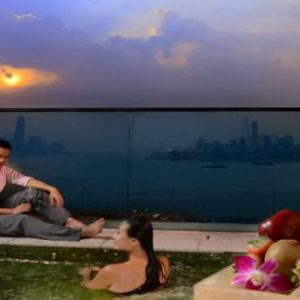 Luxury Hong Kong Holiday Packages Harbour Grand Hong Kong Premier Harbour View Room With Patio