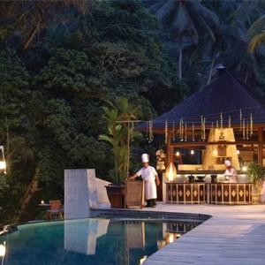 Night time - Four Seasons Bali at Sayan - Luxury Bali Holidays