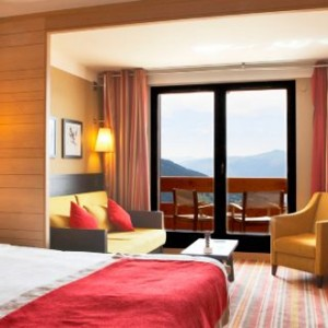 Peisey Vallandry Club Med - france holiday - deluxe room