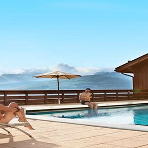 Peisey Vallandry Club Med - france holiday - swimming pool
