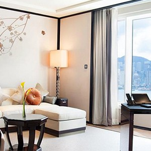 Peninsula Hong Kong - Deluxe Harbour View Suite