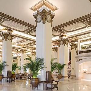 Peninsula Hong kong - holidays - lobby
