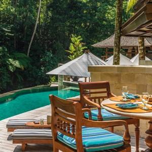 Poolside Service - Four Seasons Bali at Sayan - Luxury Bali Holidays