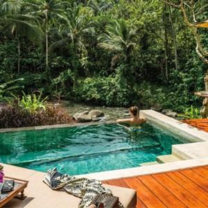 Private Pool - Four Seasons Bali at Sayan - Luxury Bali Holidays