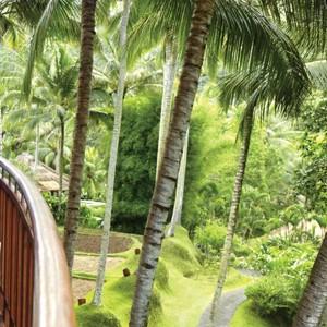 Terrace views - Four Seasons Bali at Sayan - Luxury Bali Holidays
