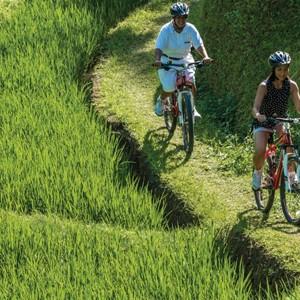 cycling - Four Seasons Bali at Sayan - Luxury Bali Holidays