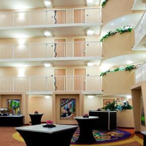 disney atrium - Crowne Plaza Orlando Universal - Luxury Orlando Holidays