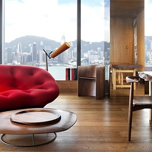 hotel icon - hong kong holiday - DESIGNER SUITE BY VIVIENNE TAM lounge