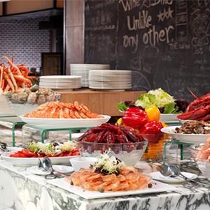 hotel icon - hong kong holiday - market restaurant
