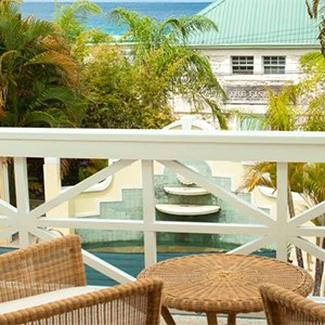 little good harbour - luxury barbados - room view