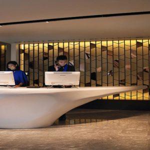 Naumi Hotel Singapore Luxury Singapore Holiday Packages Reception
