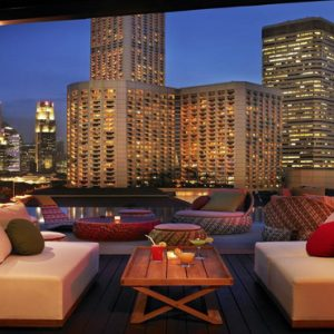 Naumi Hotel Singapore Luxury Singapore Holiday Packages Relaxing Area On Rooftop