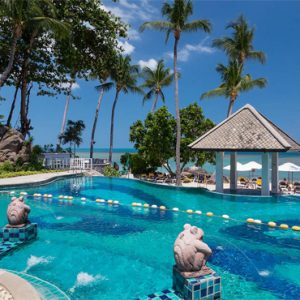 Koh Samui holiday Packages Centara Villas Samui Pool 2