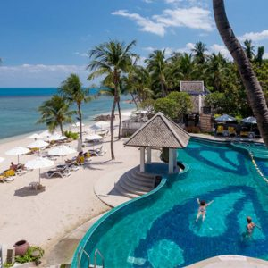 Koh Samui holiday Packages Centara Villas Samui Pool 3