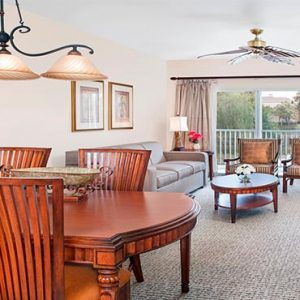 Sheraton Vistana Villages Resort Lake Bueno Vistas Orlando Holiday One Bedroom Premium Villa Lounge1