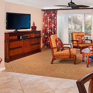 Sheraton Vistana Villages Resort Lake Bueno Vistas Orlando Holiday Two Bedroom Villa Lounge