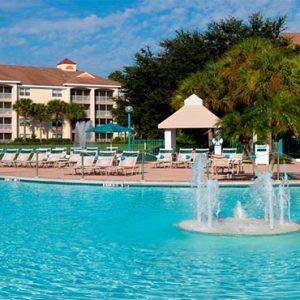 Sheraton Vistana Villages Resort, Lake Bueno Vistas Orlando Holiday Pool Fountain
