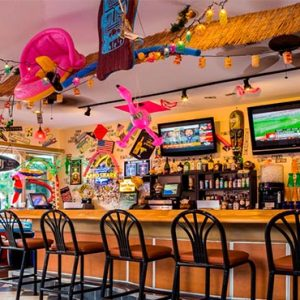Sheraton Vistana Villages Resort, Lake Bueno Vistas Orlando Holiday Tacky Tikki Bar