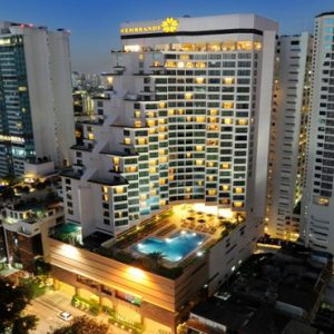 luxury Thailand holiday Packages Rembrandt Hotel Bangkok Exterior