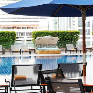 luxury Thailand holiday Packages Rembrandt Hotel Bangkok Pool
