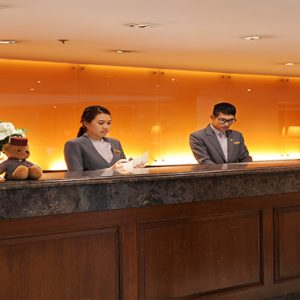 luxury Thailand holiday Packages Rembrandt Hotel Bangkok Reception Area
