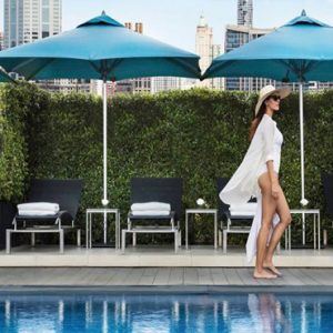 luxury Thailand holiday Packages Rembrandt Hotel Bangkok Women By Pool