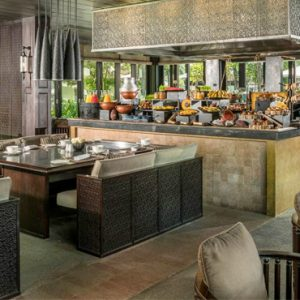 luxury Vietnam holiday Packages Four Seasons Resorts Nam Hai Cafe Nam Hai