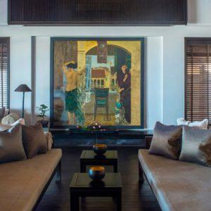 luxury Vietnam holiday Packages Four Seasons Resorts Nam Hai Five Bedroom Beachfront Pool Villa 2