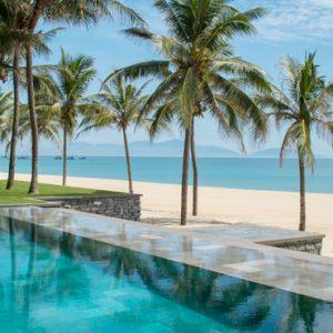 luxury Vietnam holiday Packages Four Seasons Resorts Nam Hai Five Bedroom Beachfront Pool Villa 3