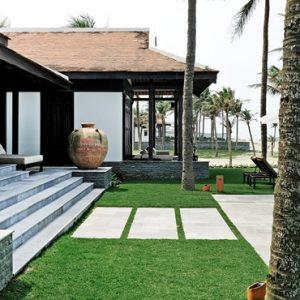 luxury Vietnam holiday Packages Four Seasons Resorts Nam Hai Three Bedroom Beachfront Pool Villa 4