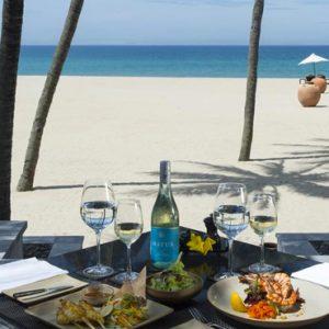 luxury Vietnam holiday Packages Four Seasons Resorts Nam Hai Dining 3