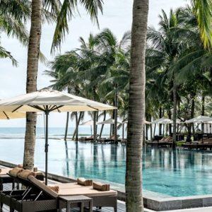 luxury Vietnam holiday Packages Four Seasons Resorts Nam Hai Pool