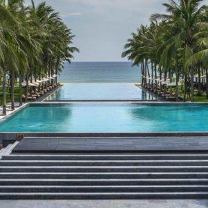 luxury Vietnam holiday Packages Four Seasons Resorts Nam Hai Pool 2