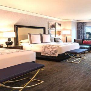 Caesars Palace Las Vegas Holiday Augustus Strip View Room 2 Queen Rooms (smoking)