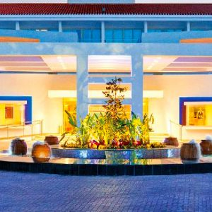 Luxury Cyprus Holiday Packages Olympic Lagoon Resort Paphos Entrance