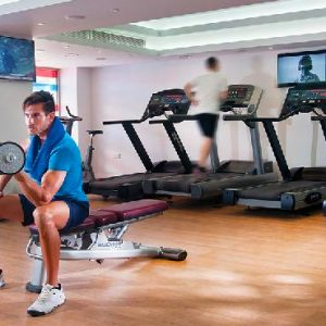 Luxury Cyprus Holiday Packages Olympic Lagoon Resort Paphos Gym
