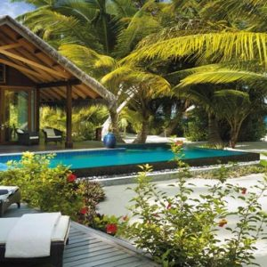 Luxury Maldives Holiday Packages Shangri La's Villingili Resort And Spa Beach Villa Private Pool And Beach