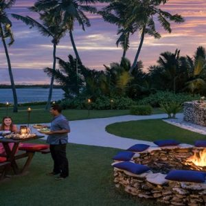 Luxury Maldives Holiday Packages Shangri La's Villingili Resort And Spa Dine By Design BBQ Pit At The Golf Course