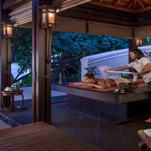 Luxury Maldives Holiday Packages Shangri La's Villingili Resort And Spa Dine By Design Outdoor Hammam At CHI, The Spa