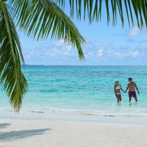 Luxury Maldives Holiday Packages Shangri La's Villingili Resort And Spa Dine By Design Serenity Bay Beach