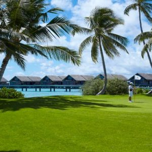 Luxury Maldives Holiday Packages Shangri La's Villingili Resort And Spa Golf In The Maldives