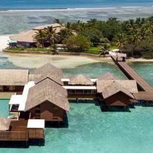 Luxury Maldives Holiday Packages Shangri La's Villingili Resort And Spa Villa Muthee Aerial View