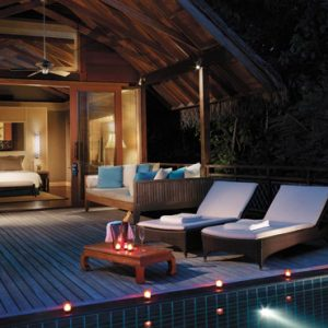 Pool Villa Shangri La Villingili Resort & Spa Luxury Maldives Holiday Packages