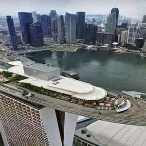 Marina Bay Sands Luxury Sinagpore Holiday Packages Aerial View