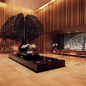 Marina Bay Sands Luxury Sinagpore Holiday Packages Banyan Tree Spa Lobby