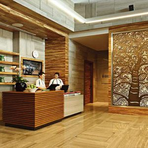 Marina Bay Sands Luxury Sinagpore Holiday Packages Club Lobby