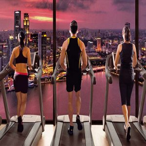 Marina Bay Sands Luxury Sinagpore Holiday Packages Fitness With A View