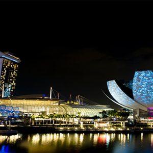 Marina Bay Sands Luxury Singapore Holiday Packages Marina Bay At Night