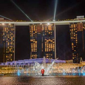 Marina Bay Sands Luxury Singapore Holiday Packages Spectra Light Show