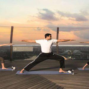 Marina Bay Sands Luxury Singapore Holiday Packages Yoga
